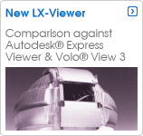 Compare lx-viewer with Autodesk products