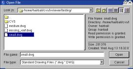 file information view